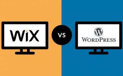 เปรียบเทียบเครื่องมือสร้างเว็บไซต์: WIX กับ WordPress