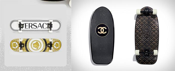 Chanel Skate Versace Skate